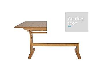 Windsor Large Extending Dining Table in Light Finish (Lt) on Furniture Village