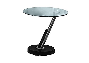 Tokyo Lamp Table in Black Only on Furniture Village