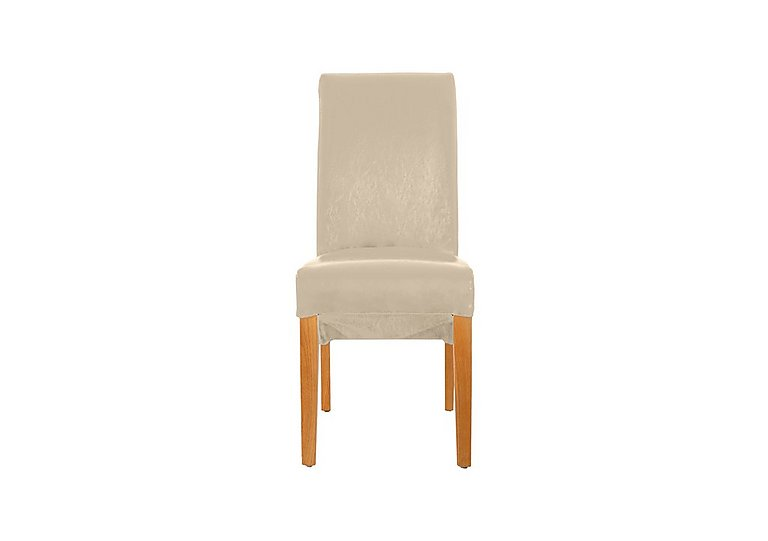 Arlington Upholstered Dining Chair in Ivory Pu on Furniture Village