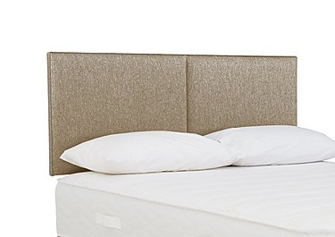 Cirrus Headboard in 7240 Taupe on Furniture Village
