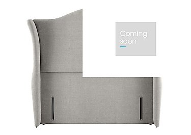 Wellesley Headboard in 350 Herringbone Grey on Furniture Village