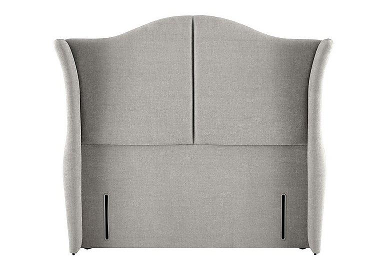 Wellesley Headboard in 350 Herringbone Grey on Furniture Village