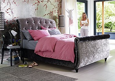 Evelyn High Foot End Bed Frame in  on Furniture Village
