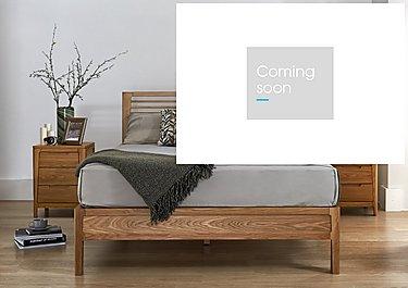 Baku Wooden Bed Frame in  on Furniture Village