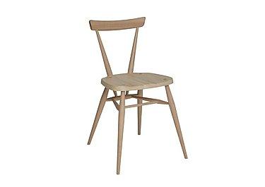 Originals Stacking Chair in Clear Matt Cm on Furniture Village
