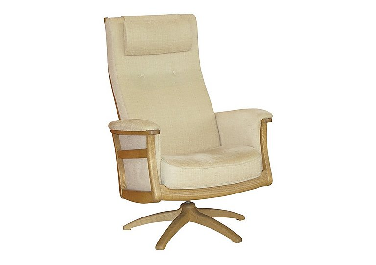 Gina Recliner Chair in Clear Matt (Cm) on Furniture Village