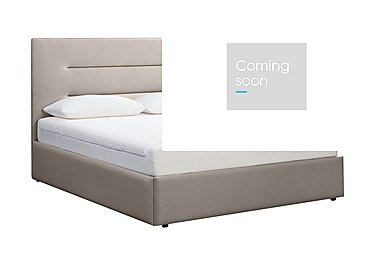 Options Ottoman Bed Frame & 21cm Original Mattress with Profile Headboard in Coral on Furniture Village