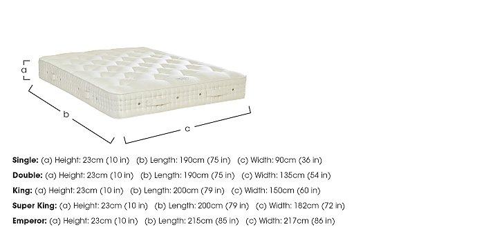 Regal Superb Pocket Sprung Mattress in  on Furniture Village