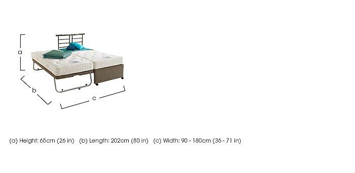 Weekender Combi Guest Bed in  on Furniture Village