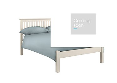 Chilton Stone White Low Foot Bed Frame in  on Furniture Village
