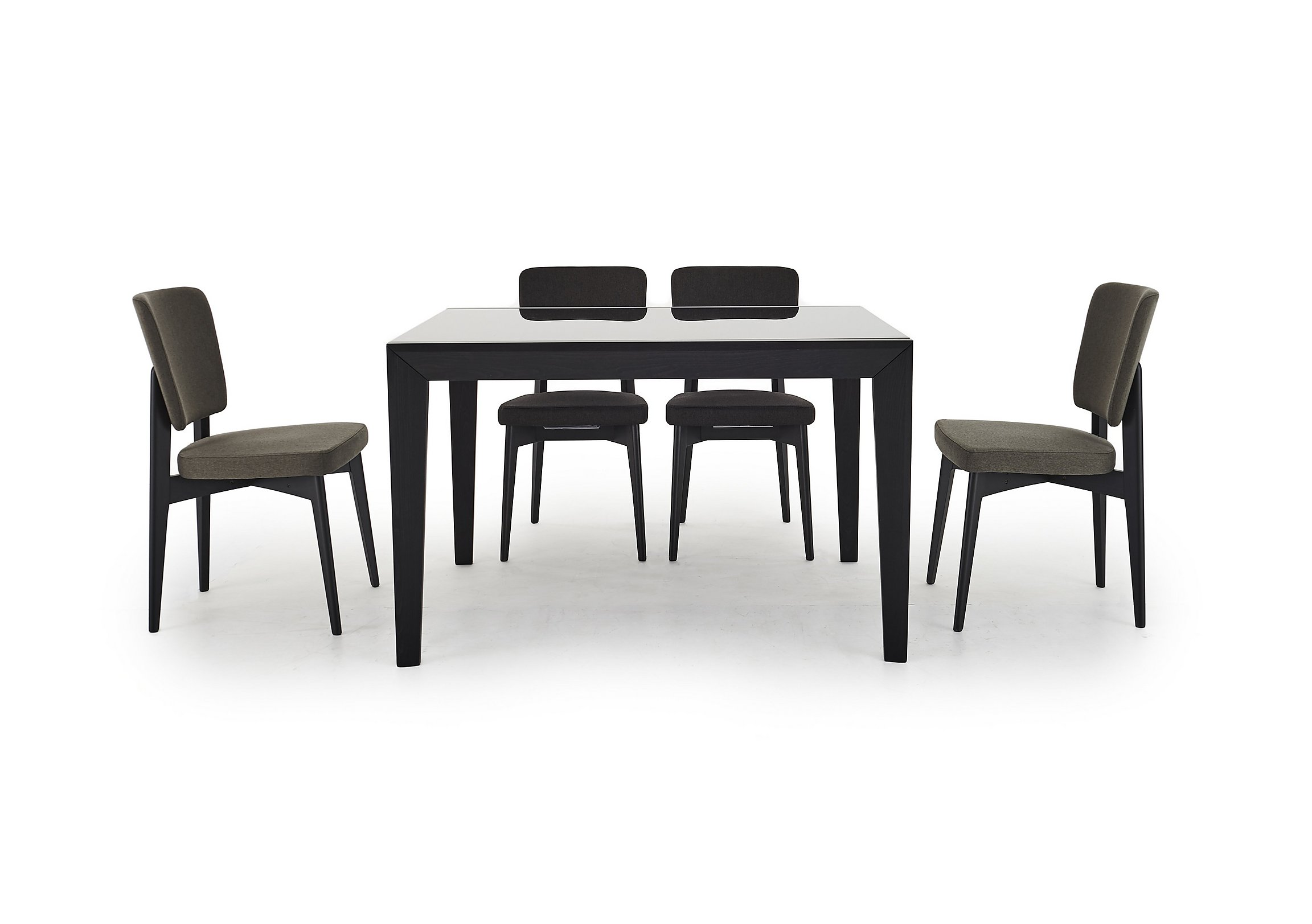 Abaco Extending Table and 4 Chairs - Calligaris - Furniture Village