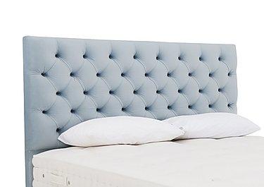 Adelphi Headboard in Cambio Baby Blue on Furniture Village