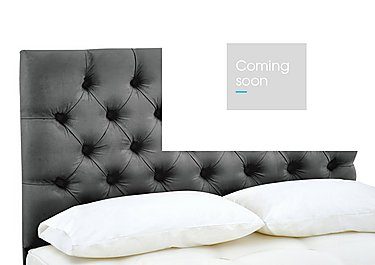 Adelphi Headboard in Sapora Smoke 1382 on Furniture Village