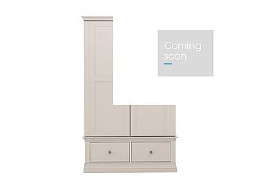 Ambriella Double Wardrobe with Drawers in Cotton on Furniture Village