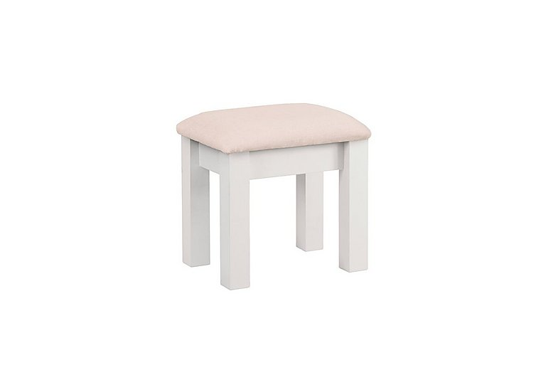 Ambriella Stool in Cotton on Furniture Village