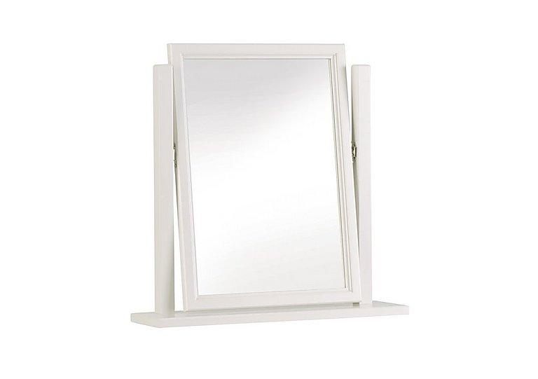 Ambriella Vanity Mirror in Cotton on Furniture Village