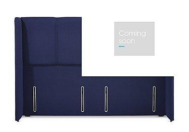 Avant Headboard in Sapphire 6693 on Furniture Village