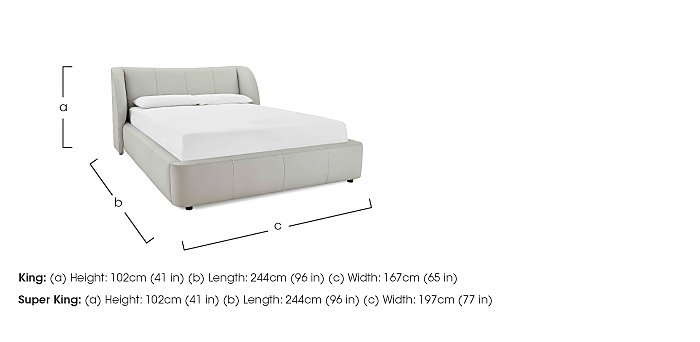 Avaris Ottoman Bed Frame in  on Furniture Village