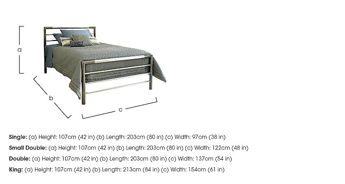 Urban Bed Frame in  on Furniture Village