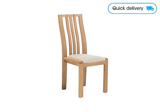 Terrific Bosco Slatted Back Dining Chair Gmtry Best Dining Table And Chair Ideas Images Gmtryco