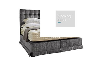 Boutique 3000 Pocket Sprung Divan Set in Dundee Steel 309 on Furniture Village