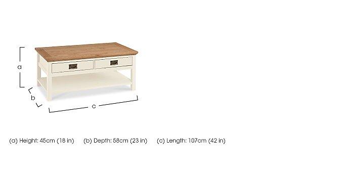 Compton Coffee Table in  on Furniture Village