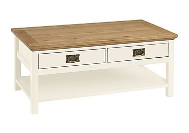 Compton Coffee Table in Two Tone on Furniture Village