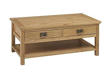Compton Coffee Table in Oak on Furniture Village