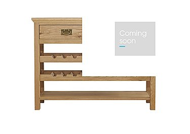 Compton Console Table in Oak on Furniture Village