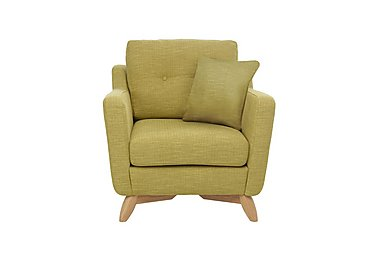 Cosenza Chair in T302 Pistachio-Clear Matt Only on Furniture Village