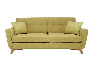 Cosenza Large Sofa in T302 Pistachio-Clear Matt Only on Furniture Village