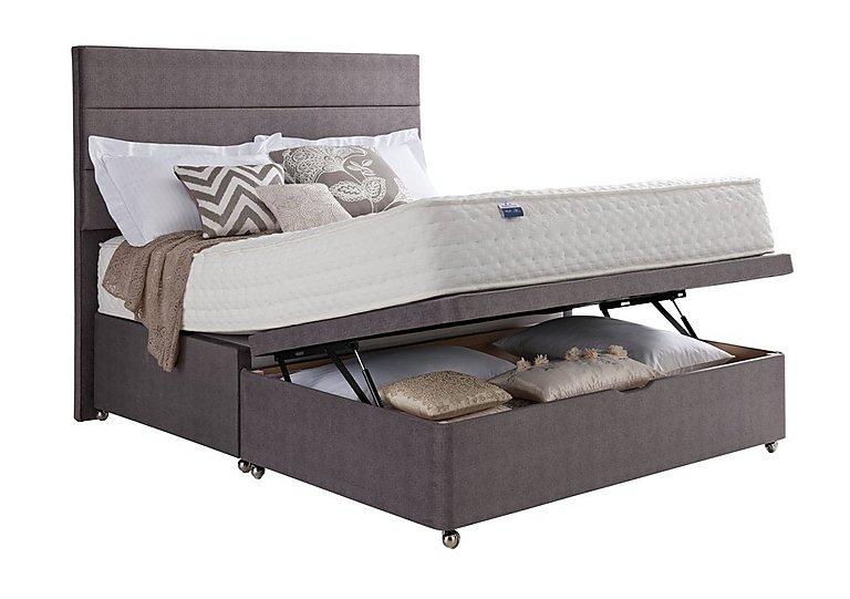 Geltex Supreme 1400 Half Ottoman Bed in  on Furniture Village