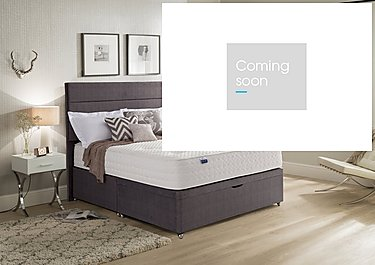 Geltex Supreme 1400 Half Ottoman Bed in  on Furniture Village