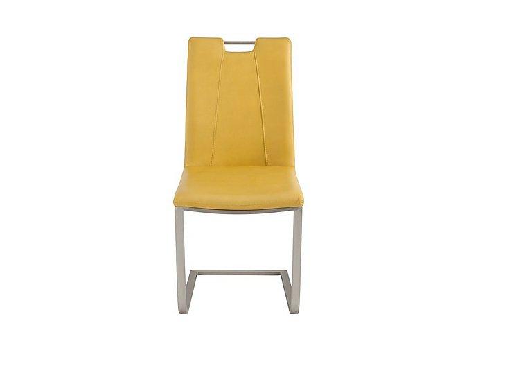 Grande Dining Chair in Mustard on Furniture Village