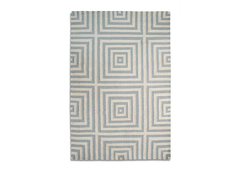 Hollywood Wool Rug in Grey on Furniture Village