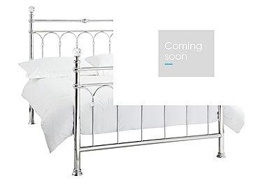 Isabella Bed Frame in Chrome Only on Furniture Village