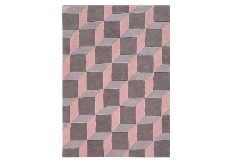 Nordic Rug in Pink on Furniture Village
