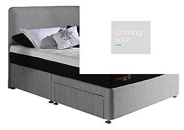 Hybrid Divan Set in 890 Cayenne Grey on Furniture Village