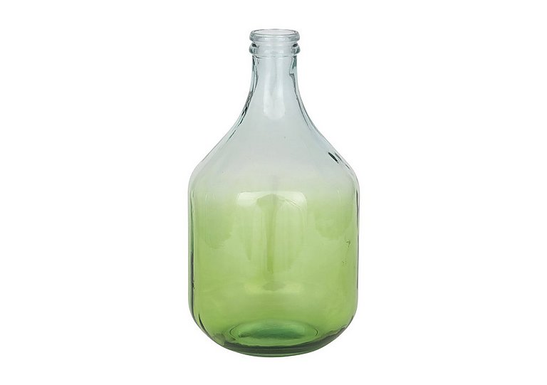 Ombre Onion Vase in Green on Furniture Village