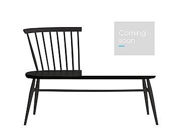 Originals Colour Love Seat in Black   Bk on Furniture Village