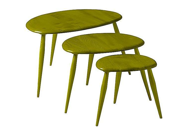 Furniture Village Ercol Nest Of Tables