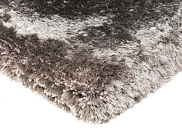 Plush Rug in Zinc on Furniture Village
