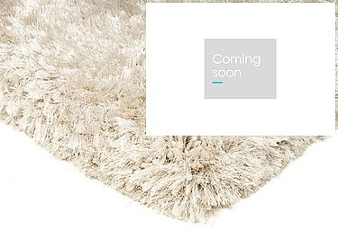 Plush Rug in Pearl on Furniture Village