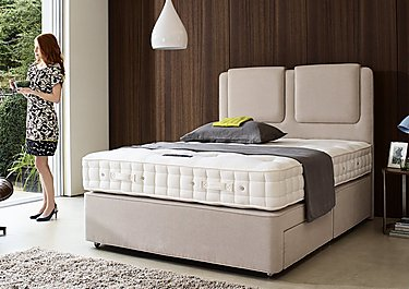 Revive Deluxe Cotton Pocket Sprung Divan Set in  on Furniture Village