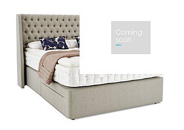 Revive Opulent Cashmere Pocket Sprung Divan Set in  on Furniture Village
