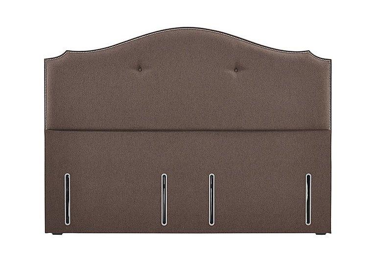 Ritz Headboard in Cocoa 6686 on Furniture Village