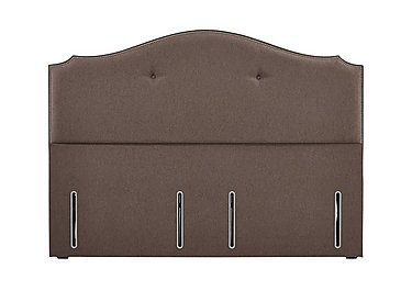 Ritz Headboard in Cocoa 6686 on Furniture Village