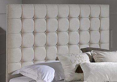 Venice Headboard in 210 White Sand on Furniture Village