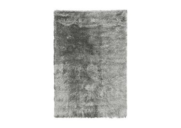 Whisper Rug in Silver on Furniture Village
