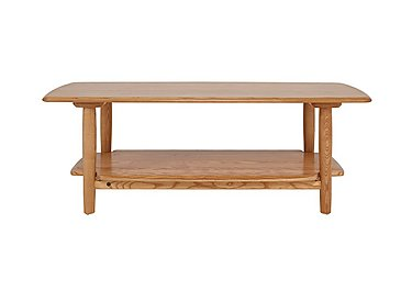 Windsor Coffee Table in Straw Finish (St) on Furniture Village